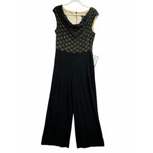 Connected NEW Glitter Illusion Wide-Leg Jumpsuit